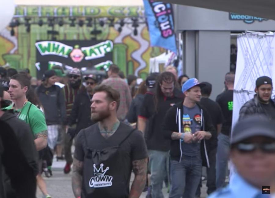 People around HIGH TIMES Cannabis Cup 2016 San Bernardino Recap!