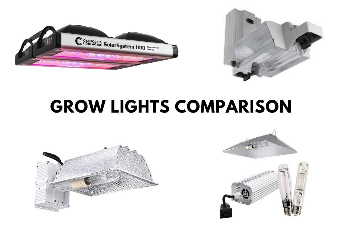 Grow Lights Comparison