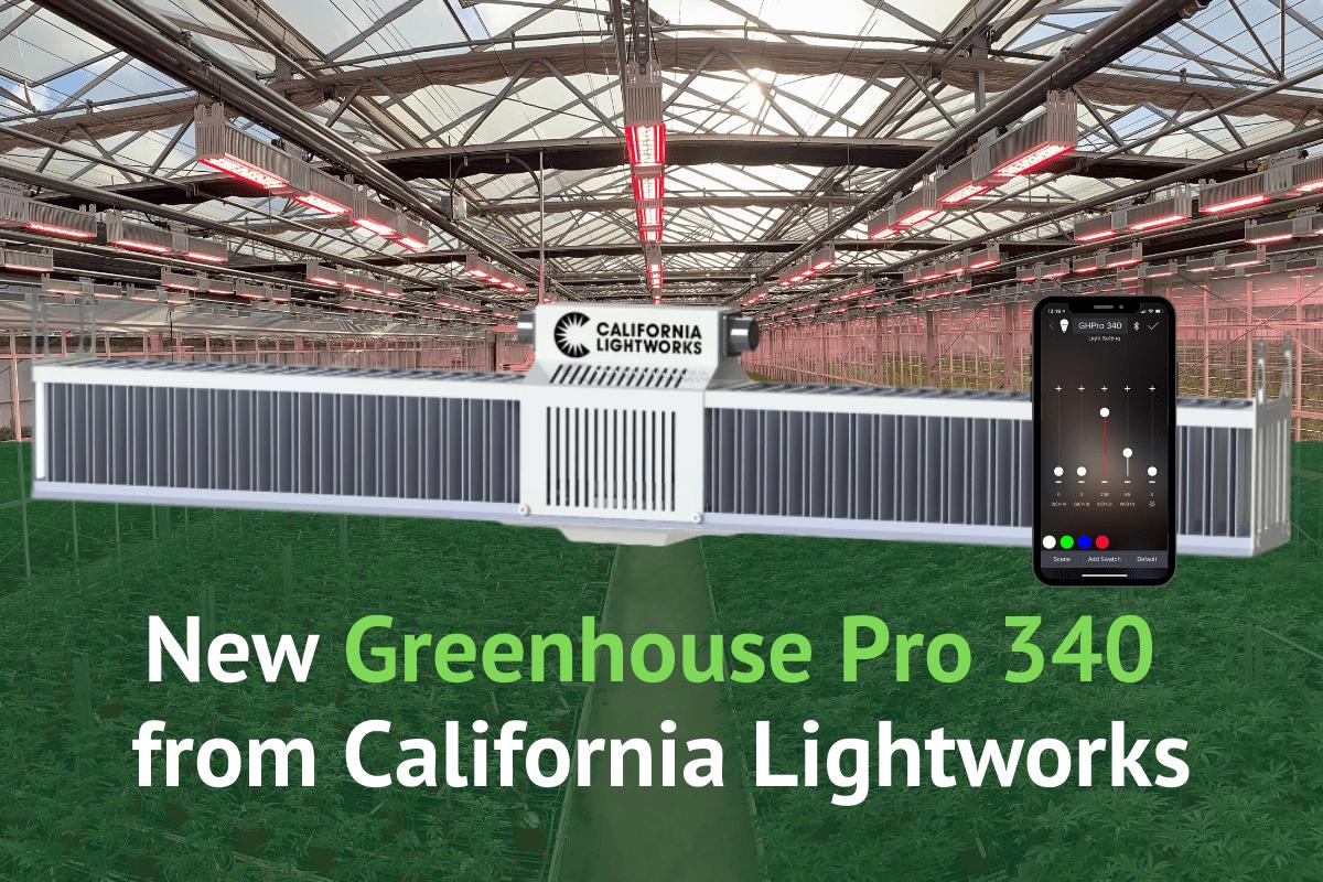 Supplemental Greenhouse LED Lighting