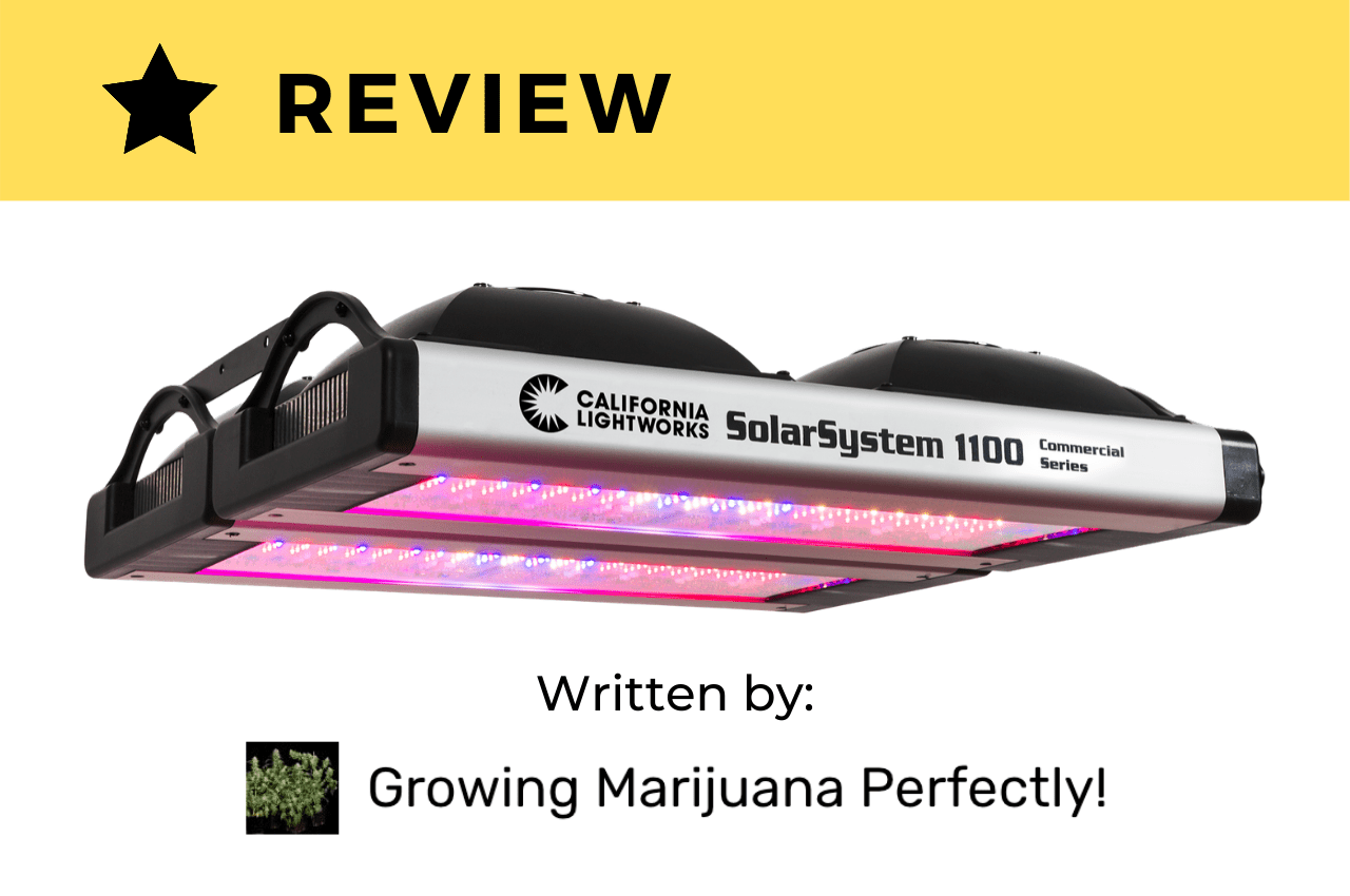 SolarSystem 1100 Performs Against Other Grow Lights